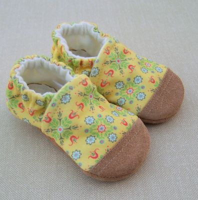 Vintage Yellow Floral, Ready to Ship, sz 18-24m