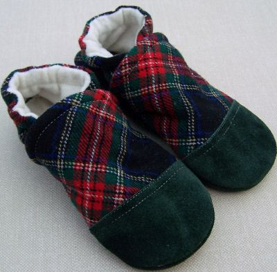 Green Tartan Plaid, sz 12-18m