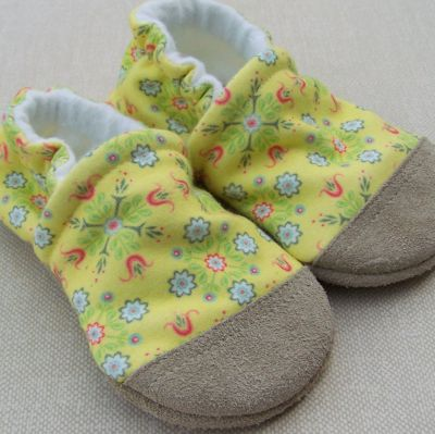 Vintage Yellow Floral, Ready to Ship, 12-18m