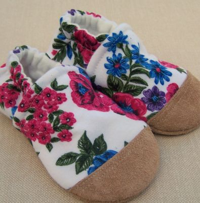 Bold Vintage Floral, Ready to Ship, sz 12-18m