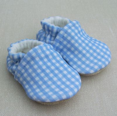Blue Gingham, Ready to Ship, sz 0-3m
